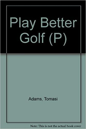 Book Play Better Golf (P)