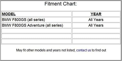 2008-2015 BMW F800GS Adventure Carbon Fiber Front Fender Mudguard Fairing 100/%