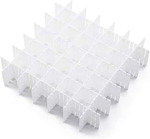 44/x/10/cm Grau RAN7033 Polypropylen Individuell zuschneidbar COMPACTOR 3 Sets mit 6 Schubladenteiler F/ür Unterw/äsche und Accessoires
