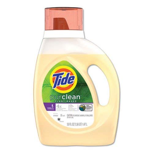 Tide 96810 PurClean Liquid Laundry Detergent, Honey Lavender, 50 oz. Bottle (Pack of 6) by Tide