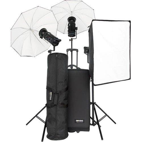 Bowens BW-8515USP Gemini 500R (X3) Kit - Pocket Wizard and Pulsar Compatible (Black) (Umbrella Kit Gemini)