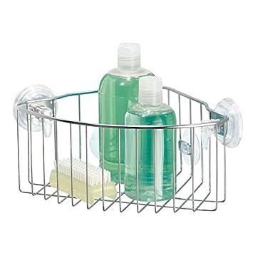 Duschzubehör mdesign duschkorb zum hängen aus metall eck duschablage für