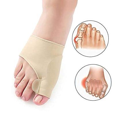 Corrector de Juanetes del dedo Gordo, mangas de gel dedo del pie correccion con gel