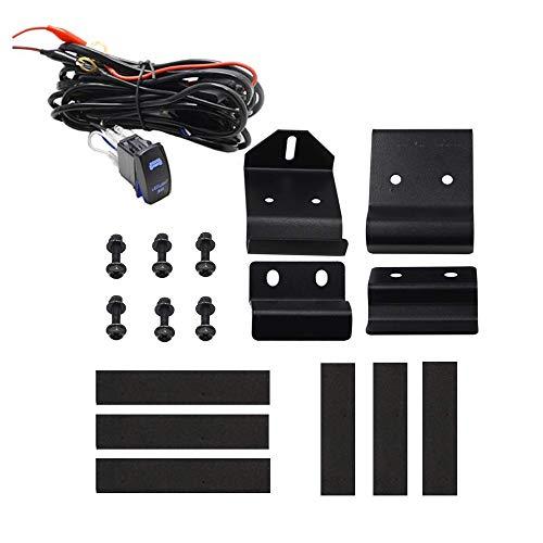 - Dasen Pro-Fit cage Mounting Bracket w/Rocker Switch Wiring Kit For 50