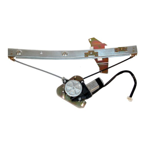 1992-1996 Toyota Camry Sedan 4 Door Front Power Window Regulator with Motor Right Passenger Side (1992 92 1993 93 1994 94 1995 95 1996 96) (Sedan Power Window Motor)