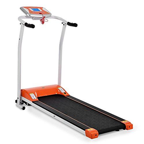 Fanala Folding Exercise Treadmill Electric Home Running Machine Orange
