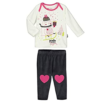 Pyjama bébé 2 pièces velours Lovesnow - Taille - 18 mois (86 cm) Petit Béguin