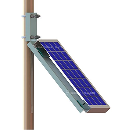 Unlimited Solar Universal Solar Panel Side of Pole, Wall L-S