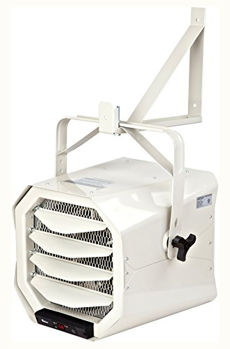 Dr Heater Dr. Infrared DR-910F 10000-Watt 240-Volt Heavy-Duty Hardwired Shop Garage Heater, Wall/Ceiling Mounted with Remote Controlled Thermostat