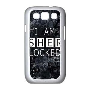 Sherlock Sherlock Samsung Galaxy S3 9300 Cell Phone Case White JN7744K5