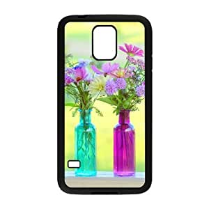 Beautiful Wildflowers DIY Cover Case with Hard Shell Protection for SamSung Galaxy S5 I9600 Case lxa#423516 by mcsharks