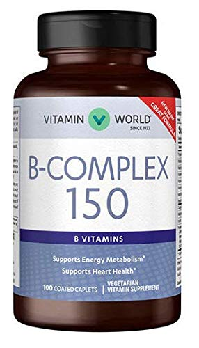 B- Complex 150 B- Vitamins 100 Coated caplets