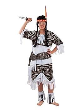 DISBACANAL Disfraz India Cherokee para niña - Único, 4 años ...