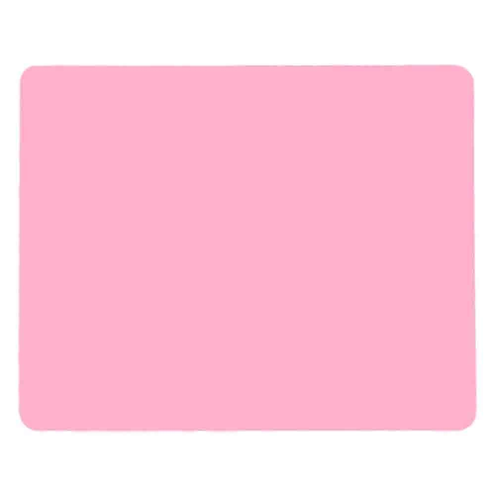"""Allscarf007 Pink Heat Resistant Nonslip Table Mat, Multipurpose Extra Large Silicone Nonstick Pastry Mat, Countertop Protector, 19.7''15.7"""""""