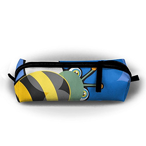 Cute Catton Honeybee Students Pencil Case Pen Bag Cosmetic (Honey Bee Craft Scissors)