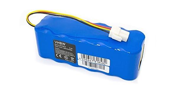 vhbw® Batería de recambio NiMH 3000mAh (14.4V) para aspiradoras, robot aspirador Samsung Navibot serie SR, reemplaza SR8850, SR8855, SR8877.