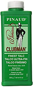 Clubman Pinaud Finest Talc Face Powders