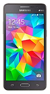 Samsung Galaxy Grand Prime G531H/DS International Version Unlocked Cellphone, Retail Packaging, Gray (International Version)