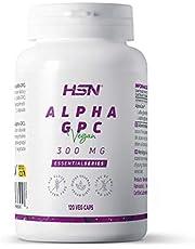 HSN Alpha-GPC | 300mg L-Alpha-Glycerylphosphorylcholine | 2 Maandelijkse levering | Choline Source | Maximale cognitieve prestaties | Veganistisch, Glutenvrij, lactosevrij, 120 Plantaardige capsules