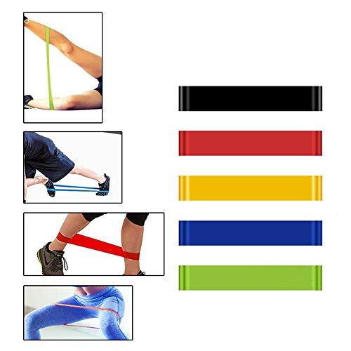 Careshine Elastic Latex Gym Strength Training Rubber Yoga Brands by Careshine