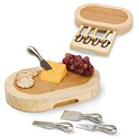 TOSCANA: una tabla de quesos de diseño original de Formaggio Brand Brand Formaggio con herramientas de queso