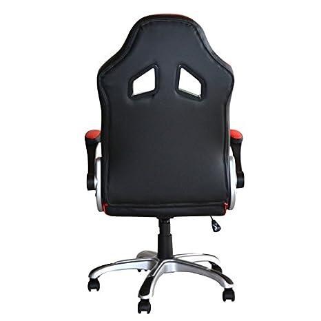 POLIRONESHOP MONTECARLO Silla sillón profesional presidential giratoria para Gaming Racing de oficina de escritorio con diferentes ajustes sillas respaldo ...