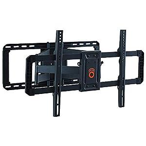 "ECHOGEAR Full Motion Articulating TV Wall Mount Bracket for 42""-80"" TVs - Smooth Articulation, Swivel, Tilt - Easy to Install Heavy Duty Design - EGLF2"