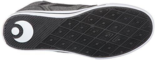 Chaussures de skate Osiris Clone pour homme Noir/noir/charbon de bois - noir - Black/Textile/Black,