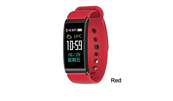 ZCPWJS Pulsera Inteligente X3 Smartwatch Hombres Mujeres ...