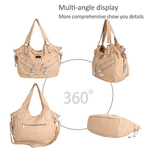 handbags DORIS amp; shoulder Khaki NICOLE Women bags bags for casual hobo large women qYgxxwn6