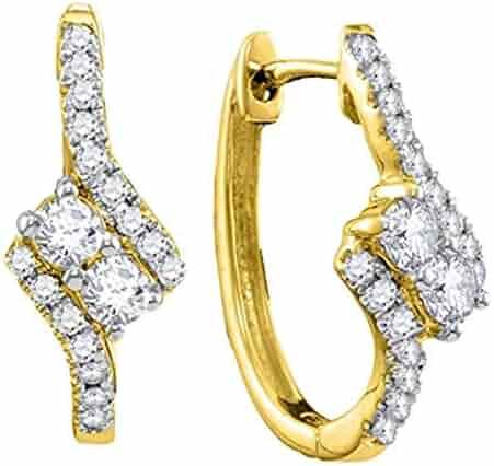 Shopping I1 - I2 - H - I - Golds - Hearts - Earrings - Jewelry