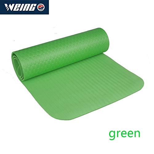 YOOMAT 610  1900  8mm PE-Yogamatte Farbe fünf, Fitnessübungs-Yogamatte, Körperformung der Schönheit