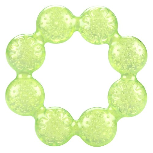 Nuby Bite Soother Teether Green