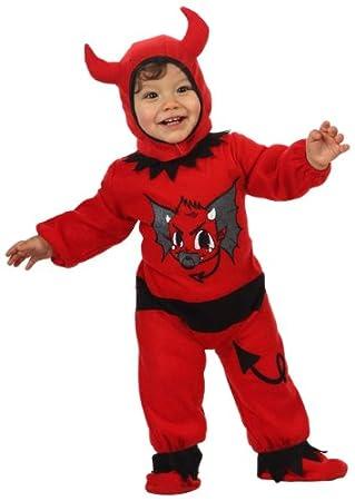 Atosa-10298 Disfraz Demonio, color rojo, 0 a 6 meses (10298 ...