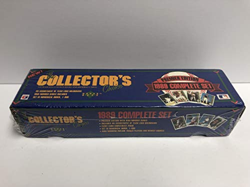 - 1989 Upper Deck Baseball Factory Sealed Wrapped Set with KEN GRIFFEY JR rookie