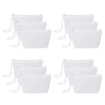 Amazon.com: Aspire - Paquete de 12 bolsas de lona 100% de ...