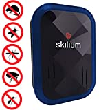 Skilium Ultrasonic Insect Repellent Plug in - Pest Repellent for Indoor Use