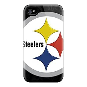 New Style Cases Covers GYh13106TBWe Pittsburgh Steelers Compatible With Iphone 4/4s Protection Cases
