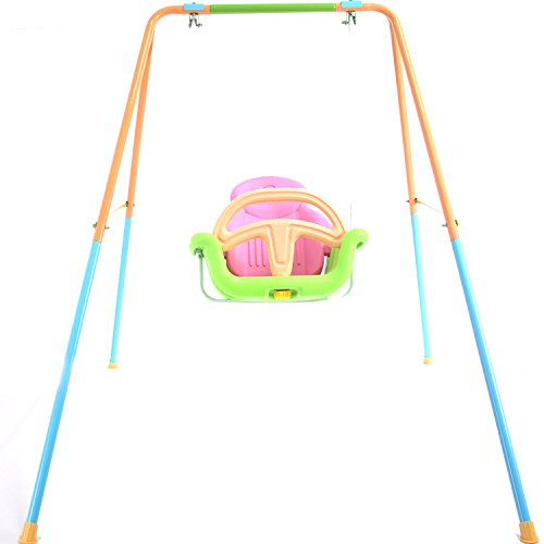 Toddler Baby Teenager Swing Playset for Yard Outdoor Indoor with Adjustable Height