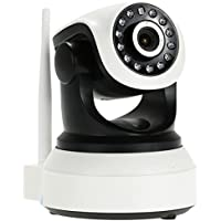 ICAMI HD Wireless Security Camera 720P Wifi Home Surveillance System Night Vision Pan/Tilt Recording Support TF Card