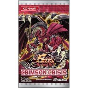 Yugioh 5Ds Crimson Crisis Unl. Edition Booster Pack [Toy]