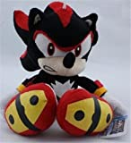 Sonic the Hedgehog Plush 11.8 Inch / 30cm Shadow Black Doll Stuffed Animals Figure Soft Anime Collection Toy