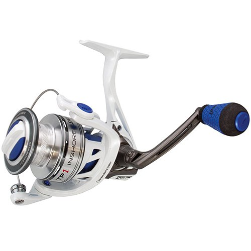 Lews Fishing TPI400 TP1 Inshore Speed Spinning Reel, 6.2: 1 Gear Ratio, 33