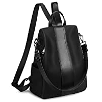 Yaluxe Women Backpack Waterproof Genuine Leather Backpack