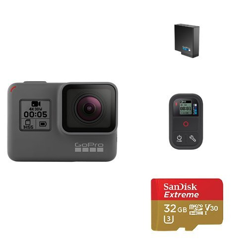 GoPro HERO5 Black w/ Battery, Remote and Memory Card by GoPro
