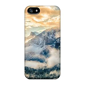For StaceyBudden Iphone Protective Cases, High Quality For Iphone 5/5s Yosemite National Park Skin Cases Covers