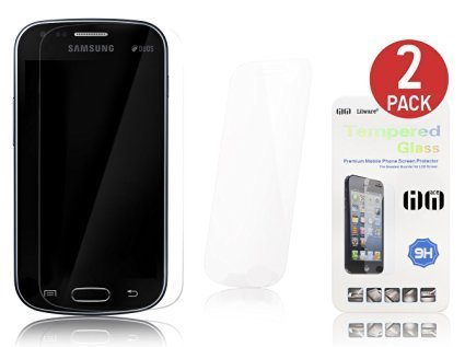 Tempered Glass Screen Protector for Samsung S-Duos - 2