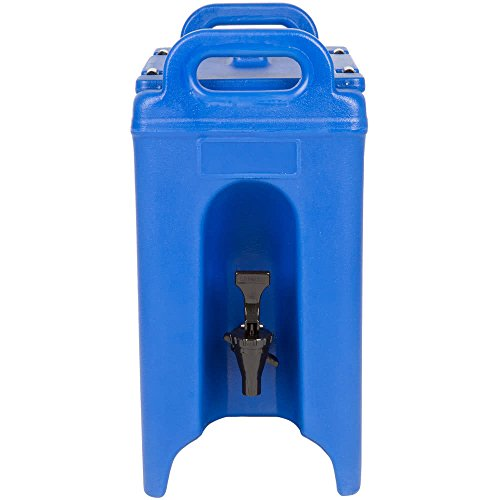 Table Top King 250LCD186 Camtainer 2.5 Gallon Navy Blue Insulated Beverage ()