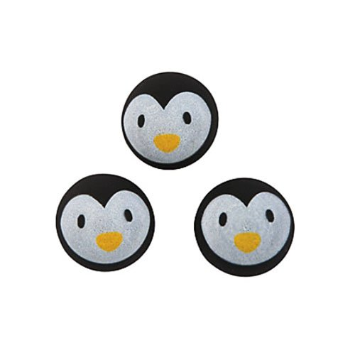 (Cute Penguin Bouncing Balls - Pack of 12 Party Favor Goodie Bag)