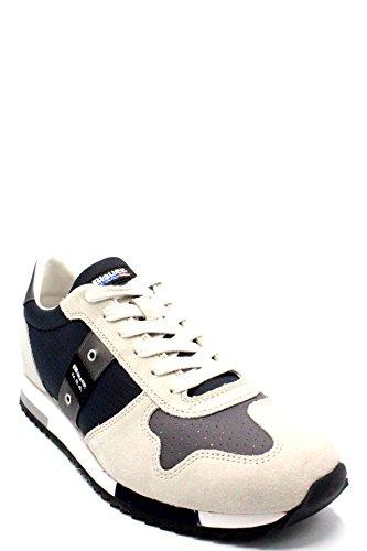 Tessuto Nero Uomo Blauer Usa Camoscio Grigio In Sneakers qgwY18F